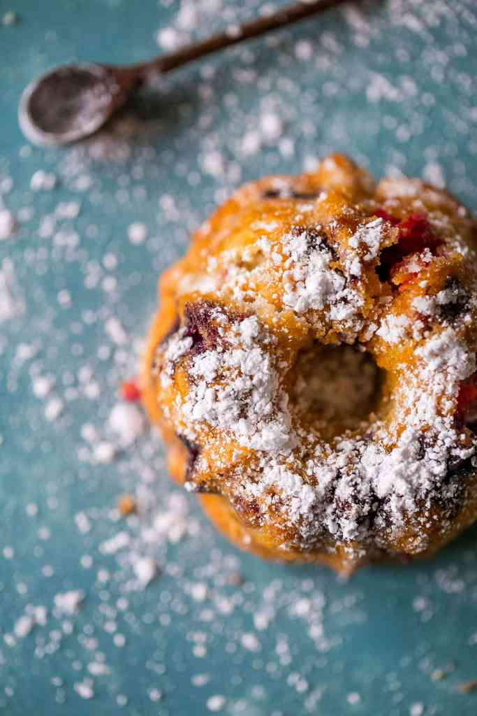 Lemon Berry Bundt Cakes {Sweet C's}