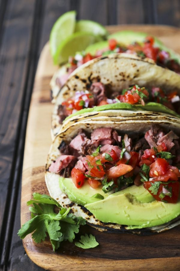 Carne Asada Tacos {Foodie with Family}