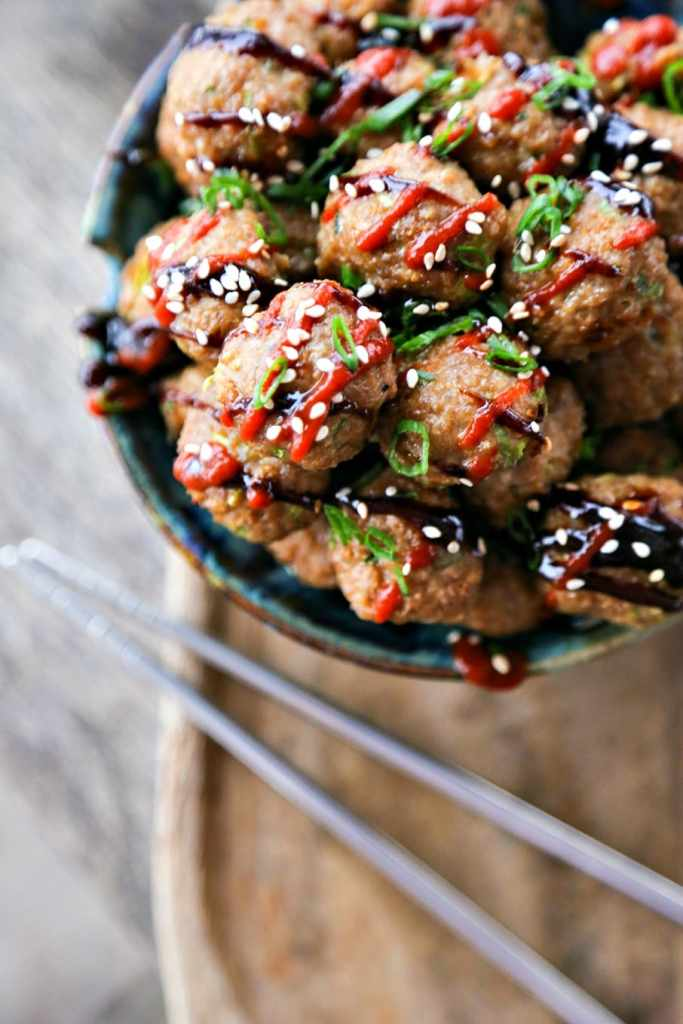 Asian Turkey Meatballs {Foodie with Family}