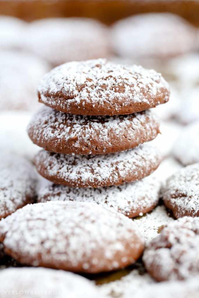 Chocolate Cheesecake Cookies {Yellow Bliss Road}