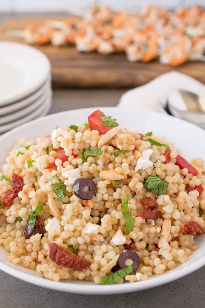 Mediterranean Couscous Salad {Culinary Ginger}