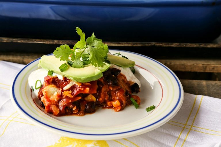 Easy Tex Mex Lasagna {Foodie with Family}