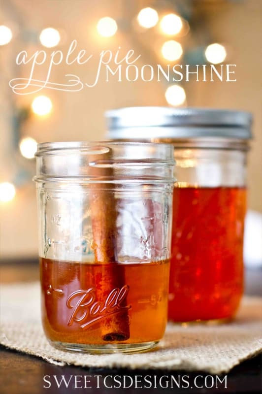 Apple Pie Moonshine {Sweet C's}