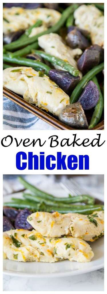 Oven Baked Chicken and Potatoe