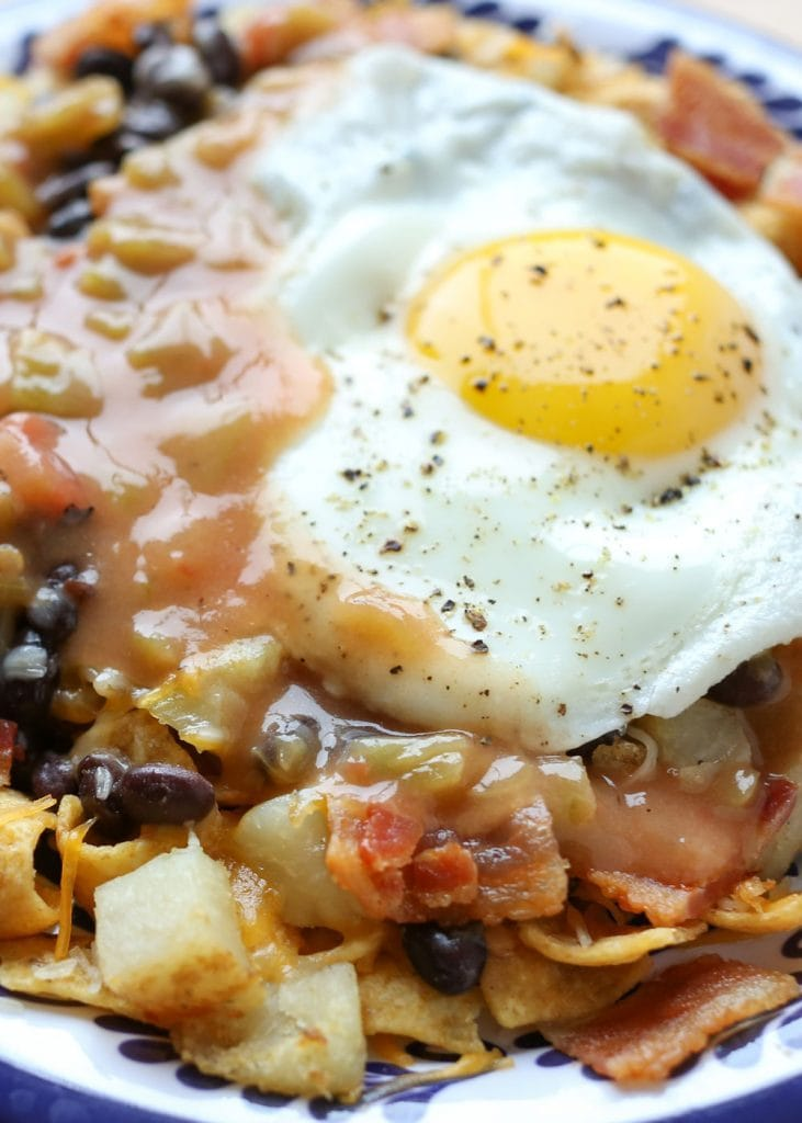 Frito Pie Huevos Rancheros {Barefeet in the Kitchen}