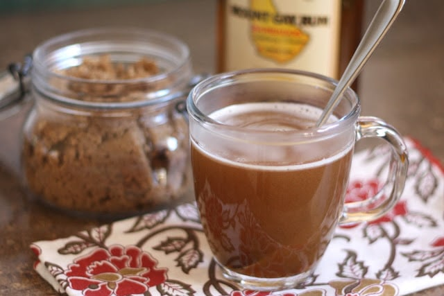 Hot Buttered Rum {Barefeet in the Kitchen}
