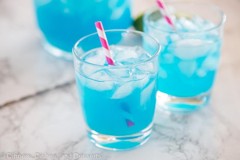blue margaritas horizontal