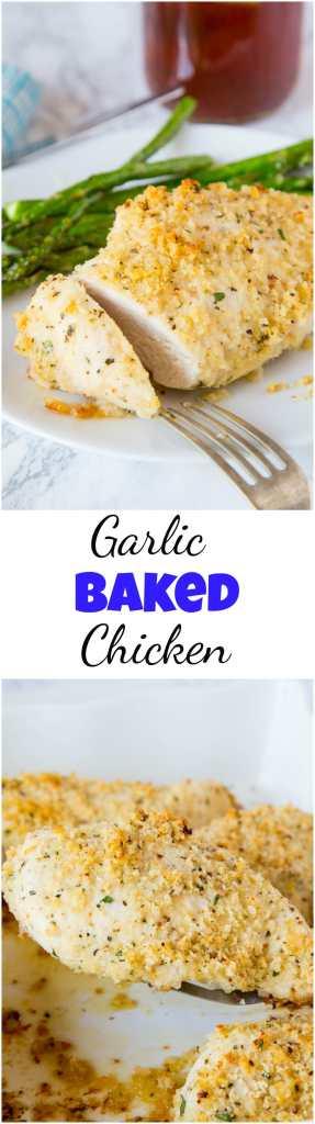 crispy oven baked chicken