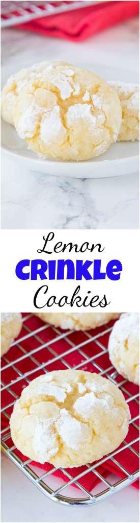Lemon cookies from scratch