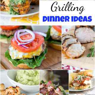 Grilling Dinner Ideas - when it is hot out, dinner on the grill is a life saver.  Here are 25 of my favorite summer grilling dinner ideas.  More than just the average burger!