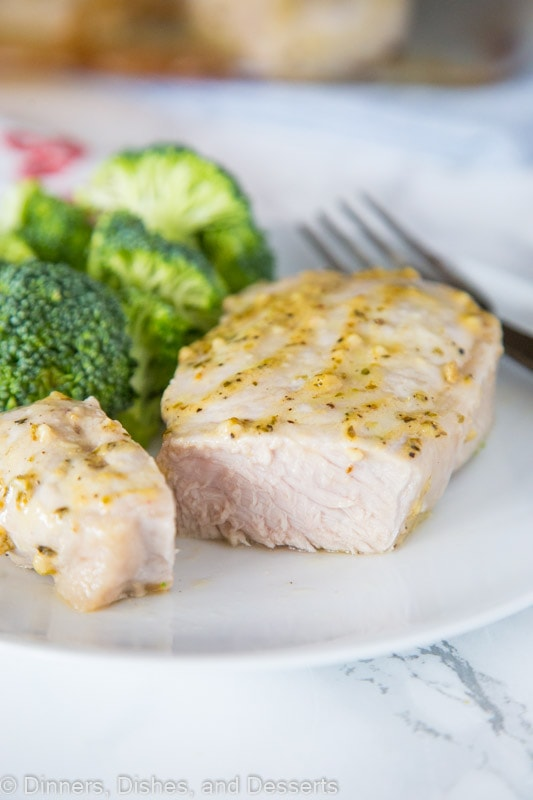 Oven Baked Pork Chops - Dinners, Dishes, and Desserts