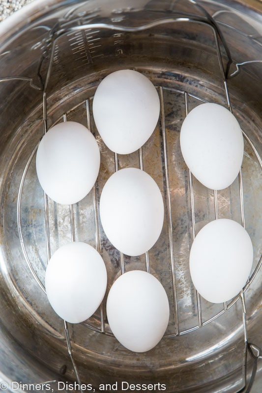 Instant Hard Boiled Eggs - make the perfect hard boiled eggs anytime in just minutes using your Instant Pot!