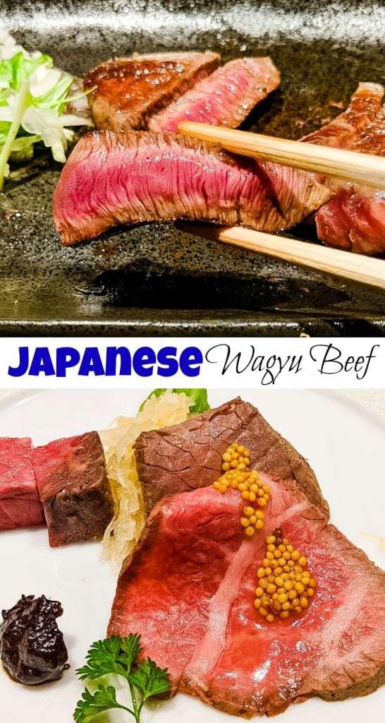 Ginza Steak wagyu beef pin