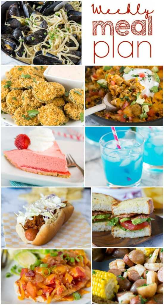 A bunch of different types of food, with Comfort and Comfort food