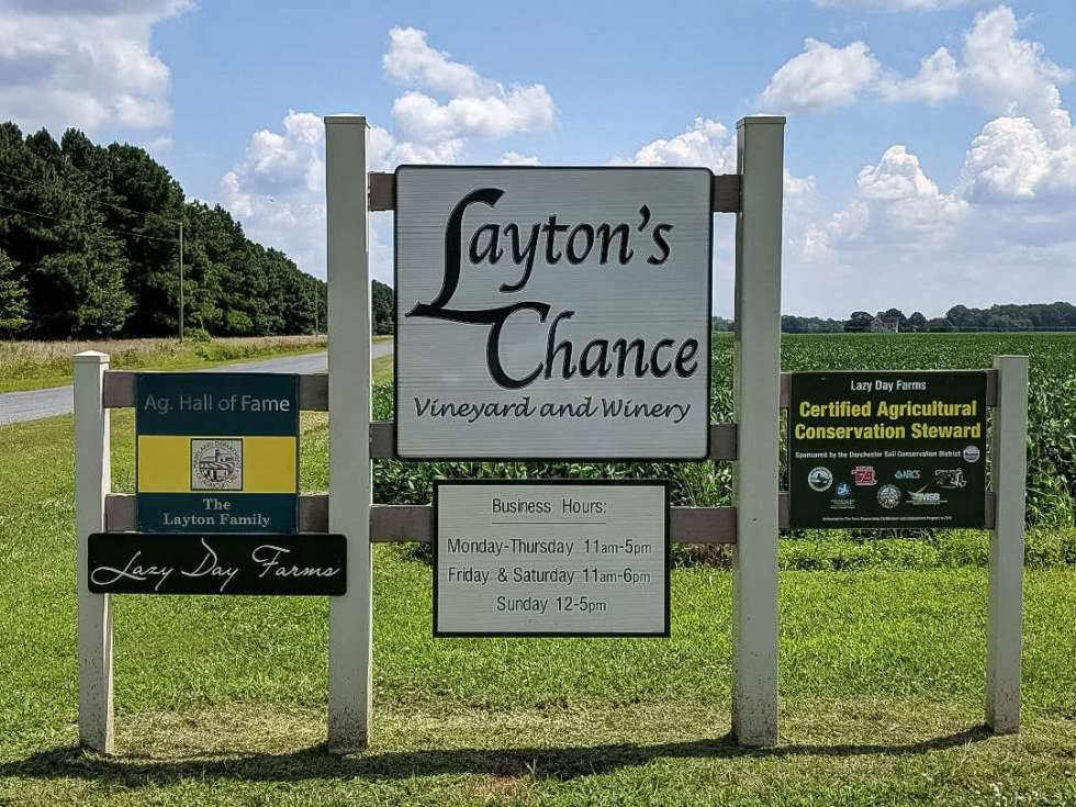 Lazy Day Farm and Layton's Chance Winery hosted us for the day.