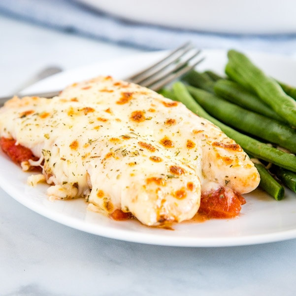 Garlic Tomato Baked Chicken