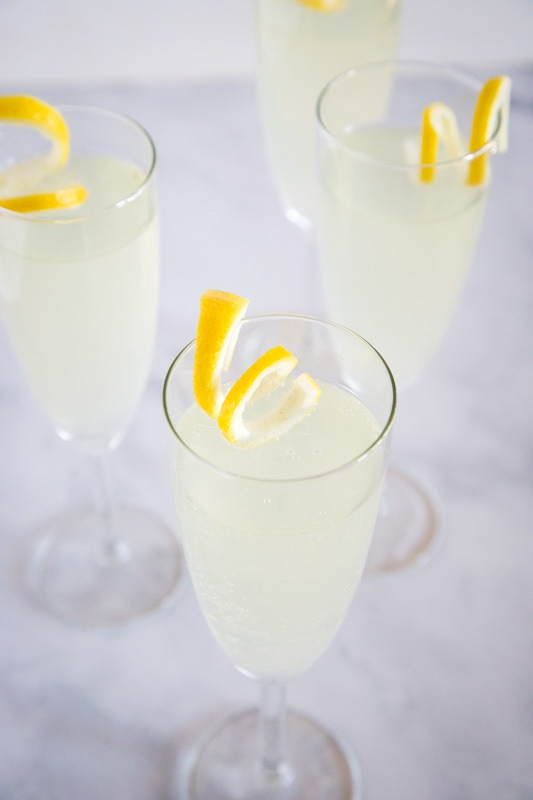 Refreshing easy cocktail that has been around forever. French 75 is great for celebrating or just sipping on a Friday night