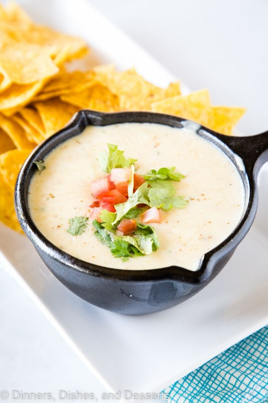White Queso just like your favorite Mexican restaurant