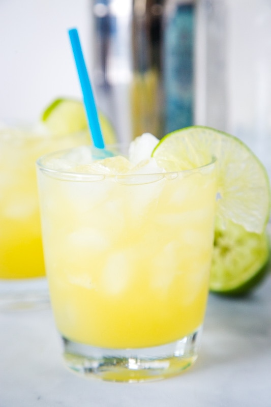 Put a fun twist on a classic margarita with this pineapple version!