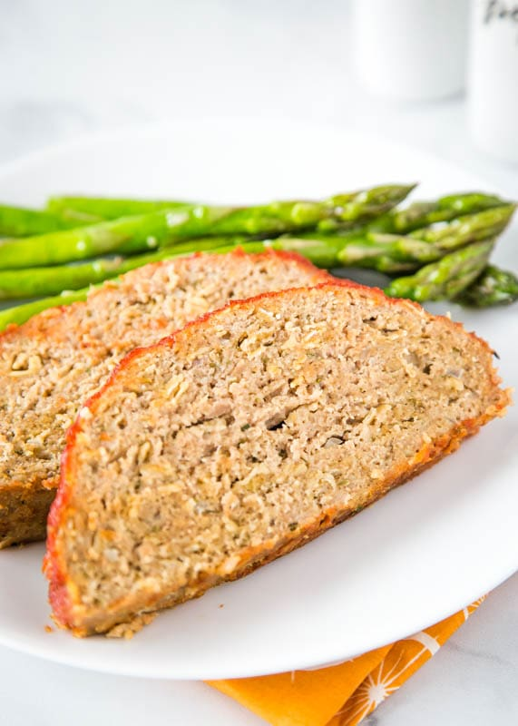 Ground turkey meatloaf that is not only healthy but delicious