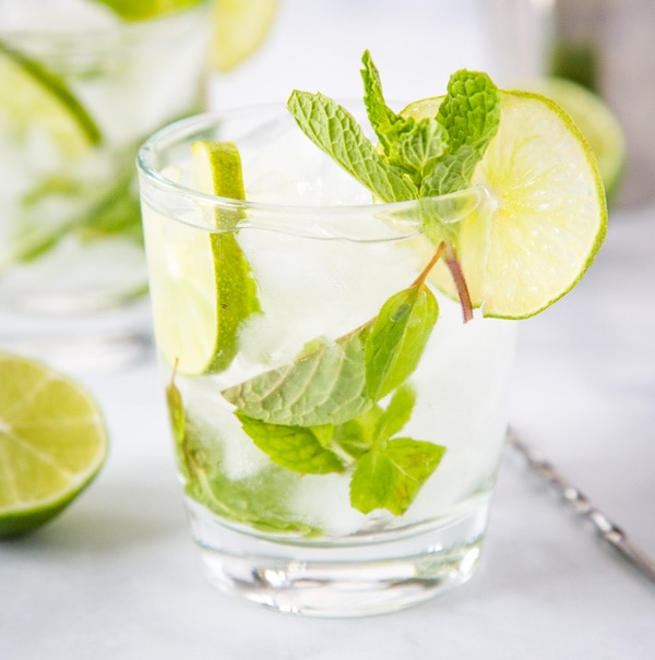 Mojito Margarita - The perfect combination of two of your favorite cocktails! This is a blend of a classic mojito and a classic margarita for a delicious and refreshing Mojito-rita!