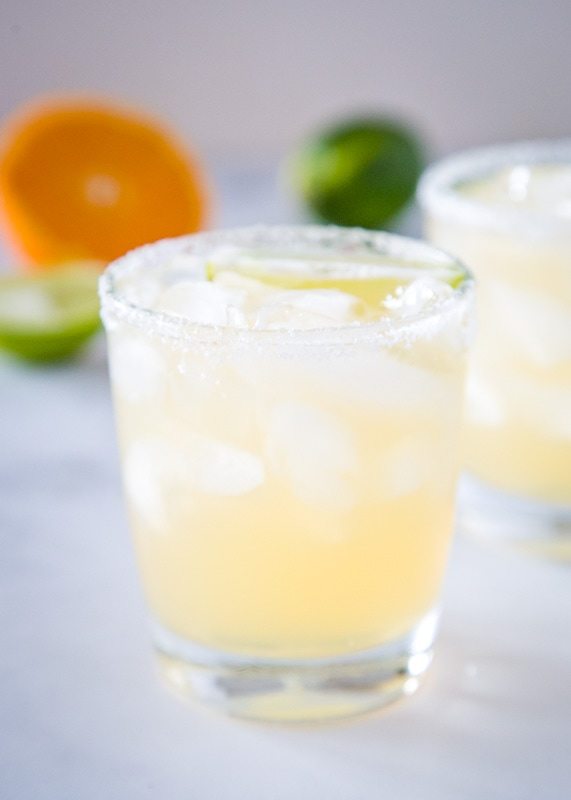 Skinny margaritas for cince de mayo