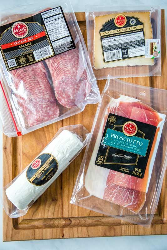Promo Taglio products for snack board
