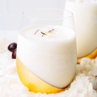 Pina Colada - A classic tropical cocktail with coconut, pineapple and rum! Simple, easy and delicious with no mix required!