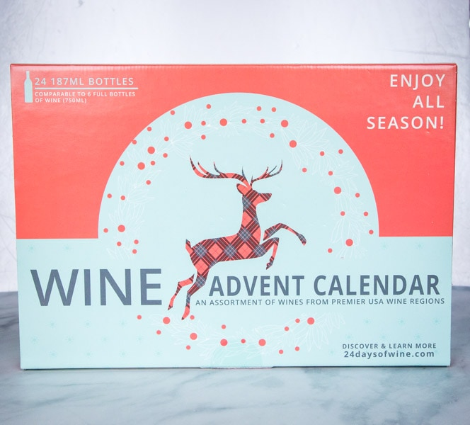 wine advent calendar box
