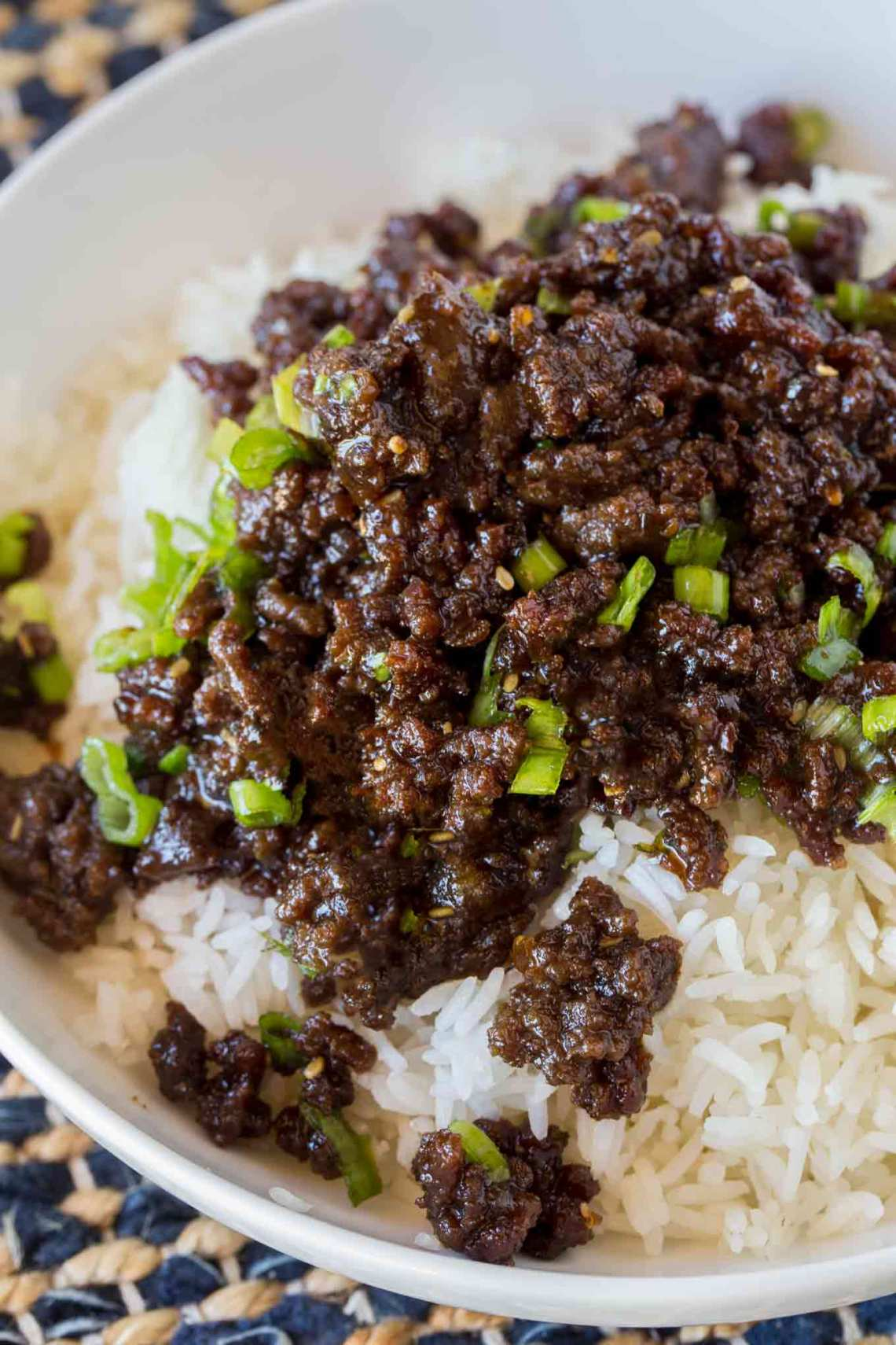 Korean Ground Beef - Dinner, then Dessert