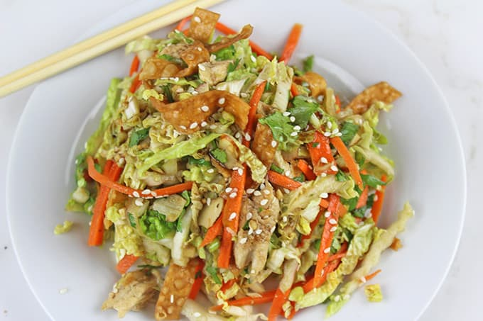 Image result for Crunchy Carrot, Pea, and Chicken Salad