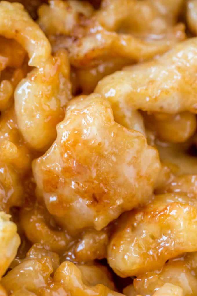 Chinese Honey Chicken - Dinner, then Dessert