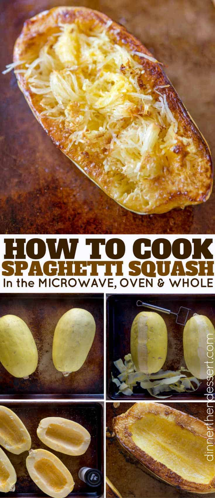 how to cook spaghetti squash in oven with water