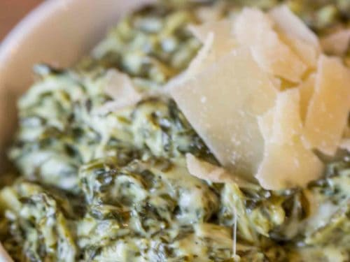 Creamy, Rich Classic Steakhouse Creamed Spinach Recipe That Takes Just A Few Minutes And Is The?Perfect Side For A Holiday Roast Or Prime Rib.