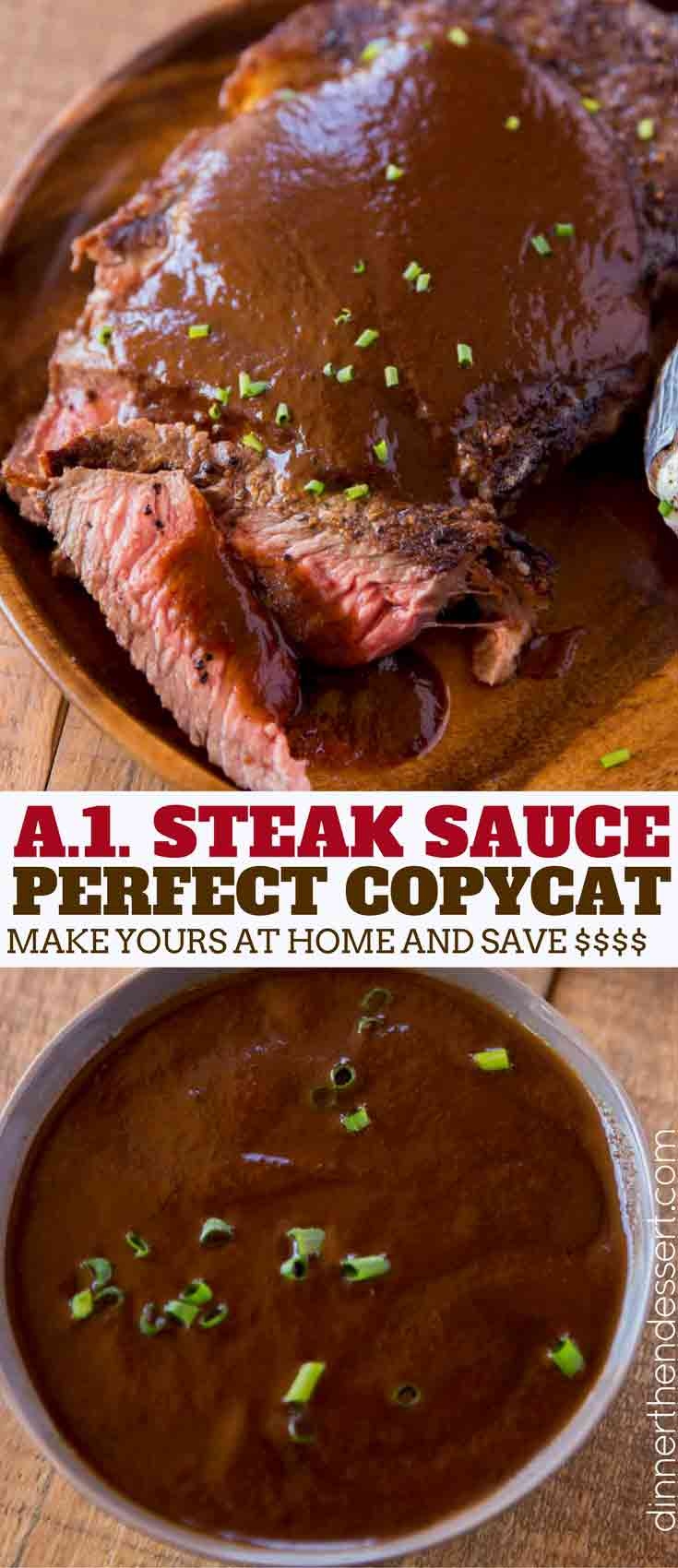 A1 Steak Sauce Carbs : steak, sauce, carbs, Steak, Sauce, (Copycat), Dinner,, Dessert
