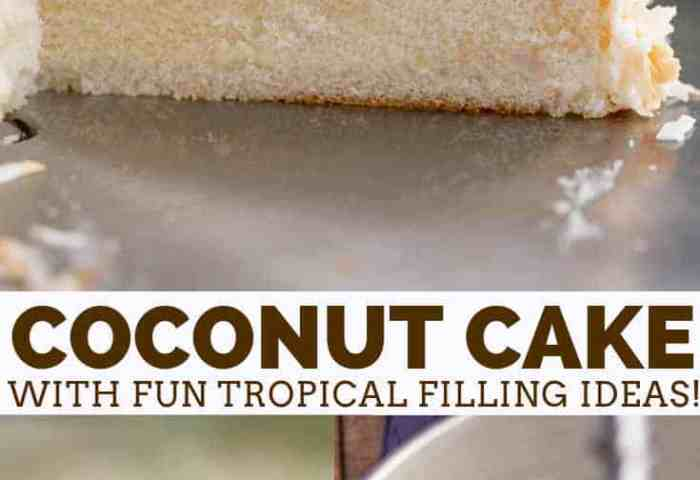Classic Coconut Cake Dinner Then Dessert