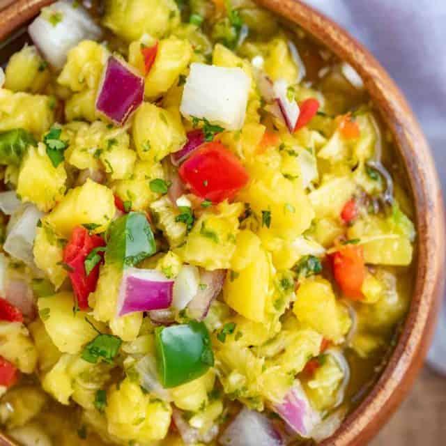 Easy Tropical Pineapple Salsa
