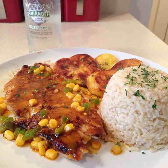 Caribbean Jerk Seasoned Pan Fried Flounder