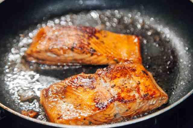 Salmon Teriyaki (Pan Fried)