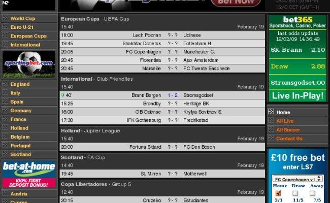Score2sms Diy Football Score Updates Via Text Message