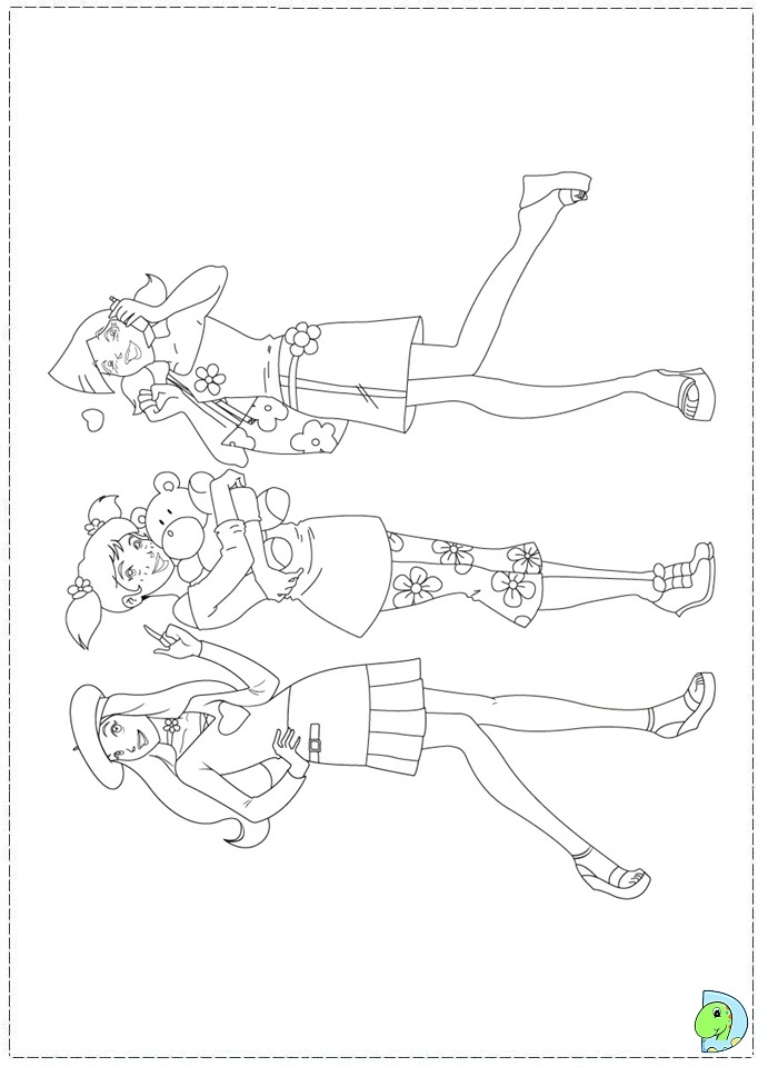 Project Mc2 Coloring Pages : project, coloring, pages, Project, Dolls, Coloring, Pages