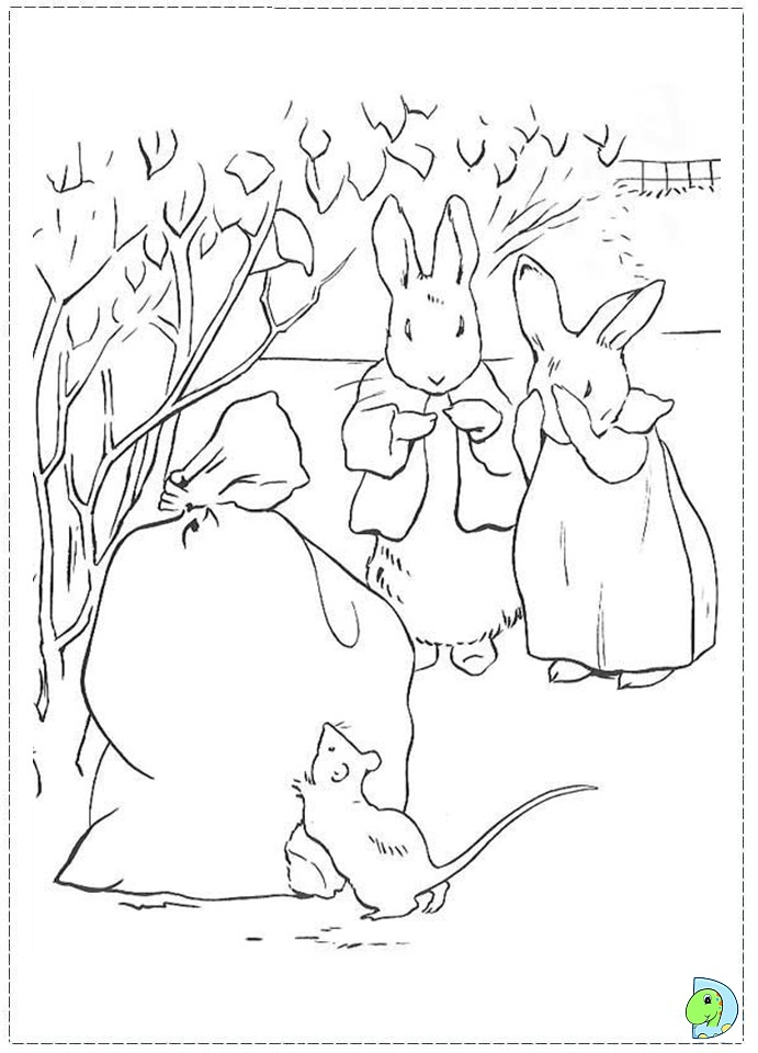peter cornelius colouring pages (page 2)