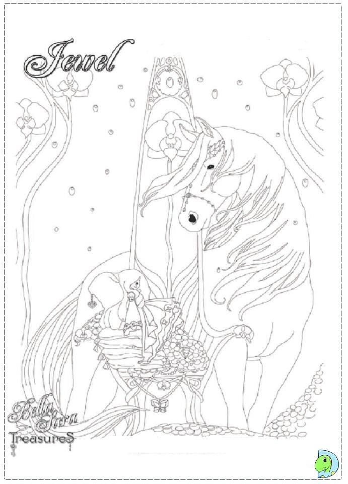 Sara Bellum Coloring Page