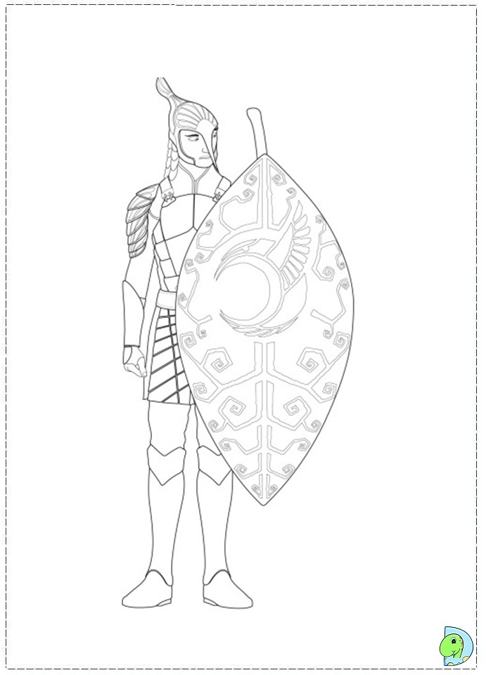 El Arca Del Pacto Coloring Pages