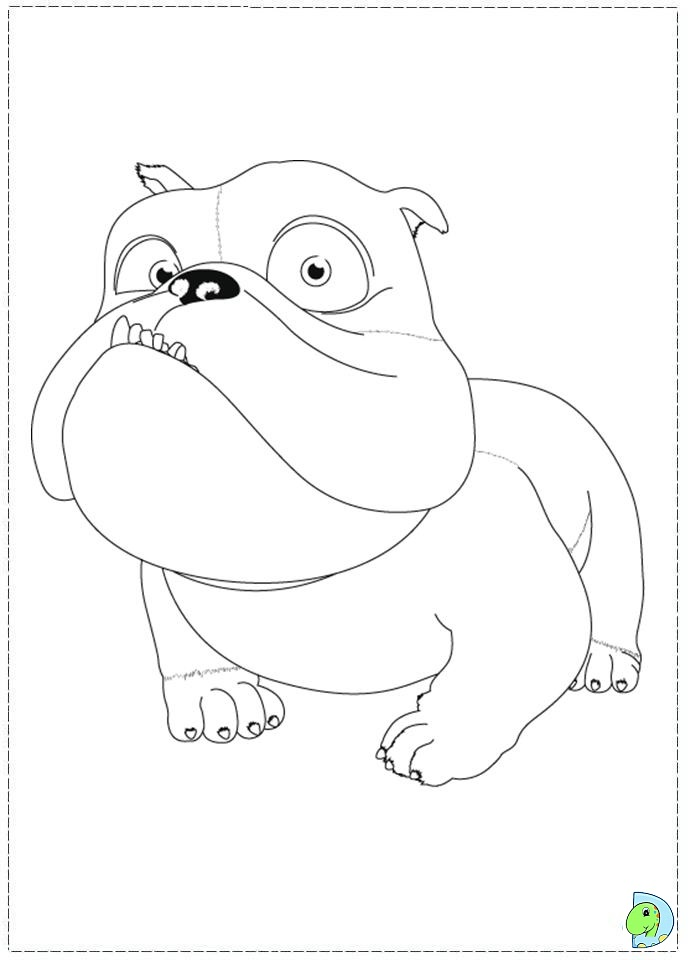 horrid henry and peter coloring pages