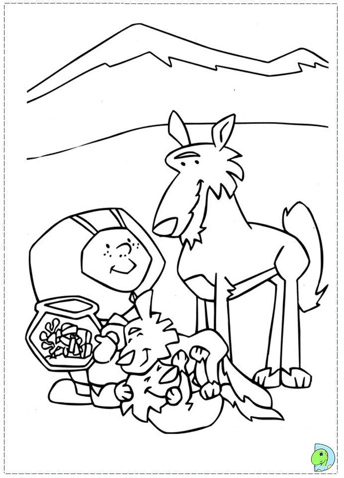 Stanley Coloring page- DinoKids.org