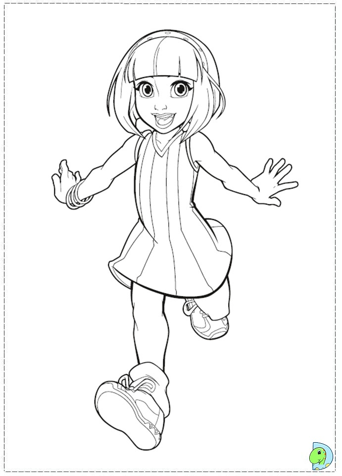 Lazy Town Coloring Pages Printable