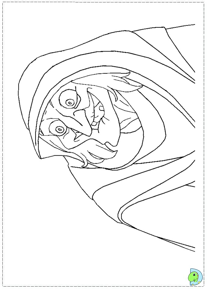 Free coloring pages of gisselle