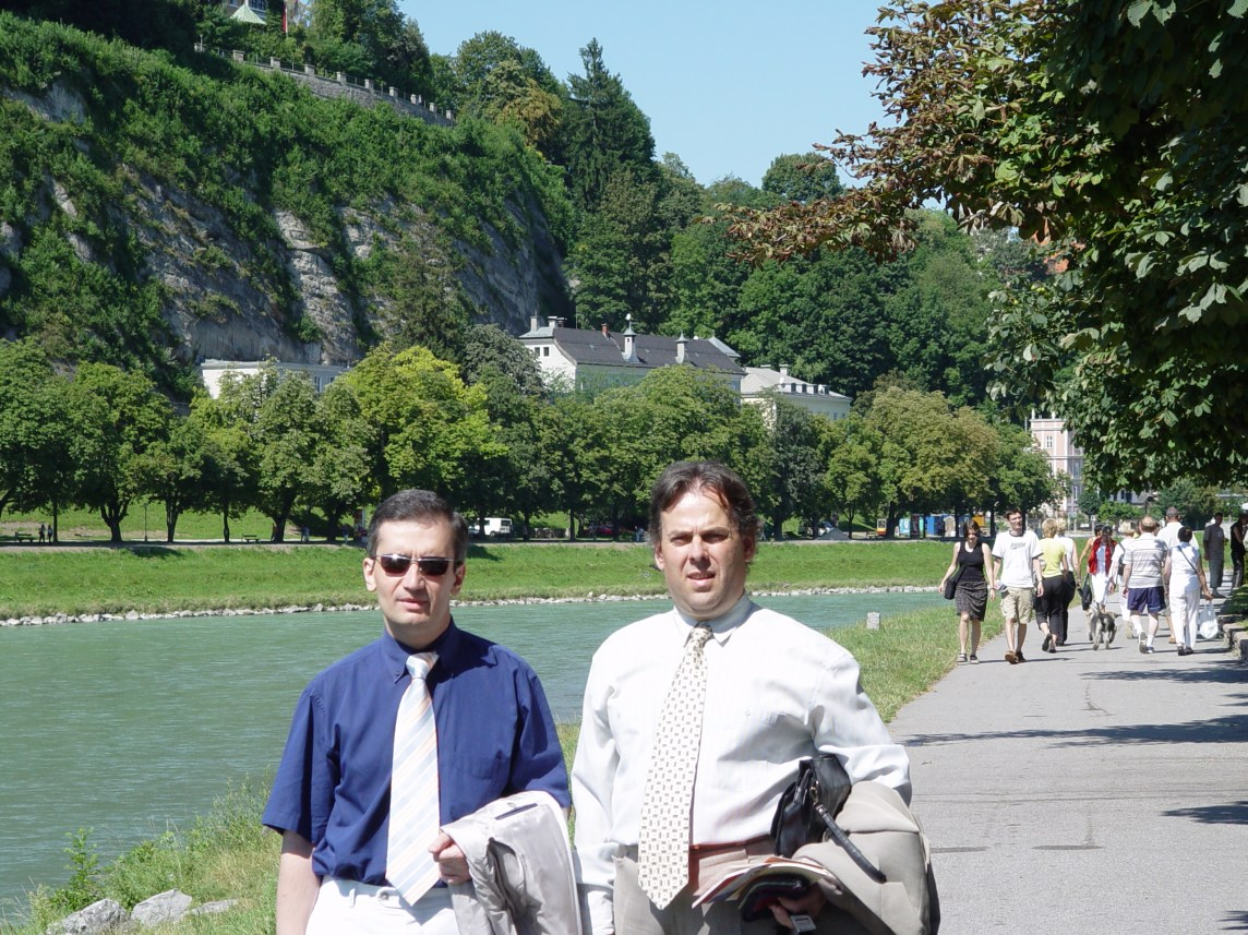 in my beloved Salzburg