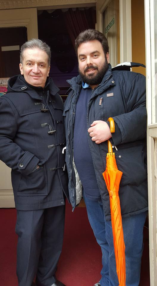 with my friend and former-student George Karayiannis
